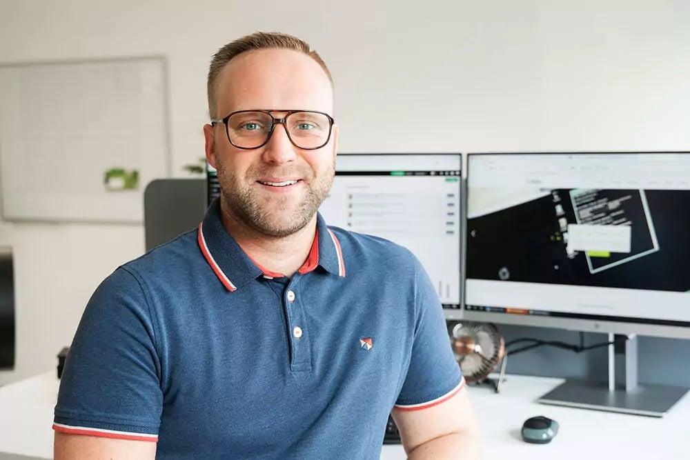 Mitarbeiter der IT Fabrik - Patrick Donath