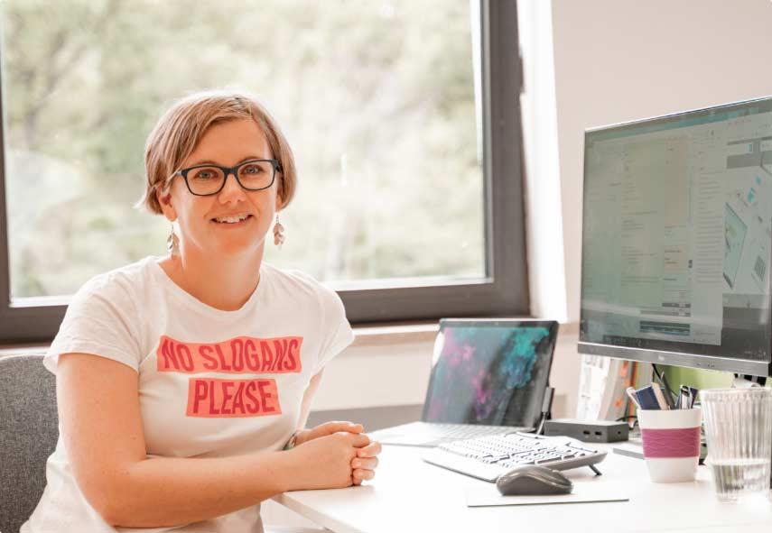 Mitarbeiter der IT Fabrik - Annett Weimann