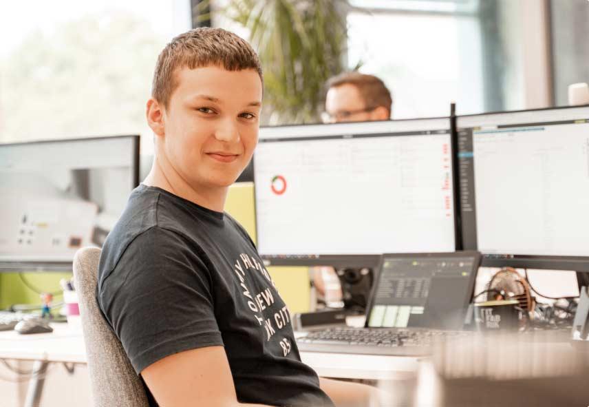 Mitarbeiter der IT Fabrik - Marius Kellen