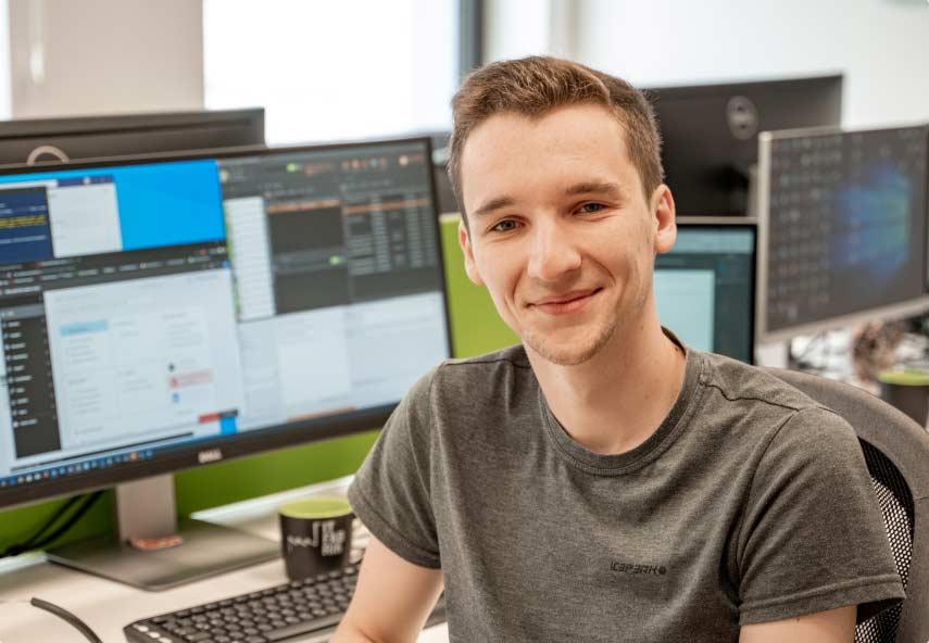 Tobias Gierenz - Mitarbeiter der IT Fabrik Systemhaus GmbH & Co. KG