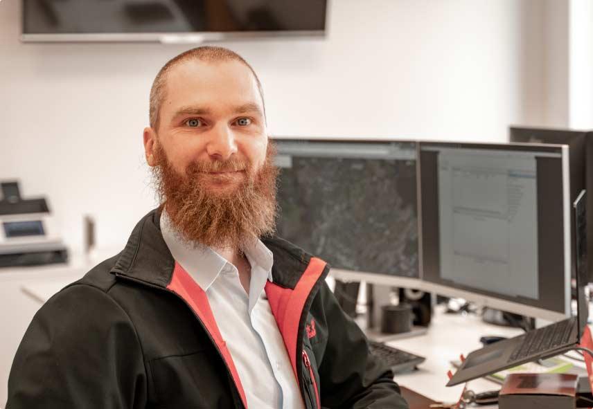 Mitarbeiter der IT Fabrik - Markus Igelmund