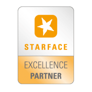 Starface – Excellence Partner - Logo - Partner der IT Fabrik