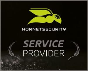 Hornetsecurity – Service Provider Partner - Logo - Partner der IT Fabrik