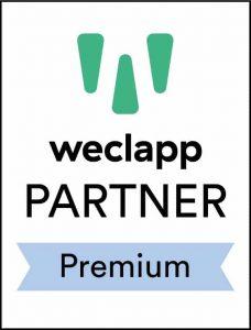 weclapp – Premium Partner - Logo - Partner der IT Fabrik