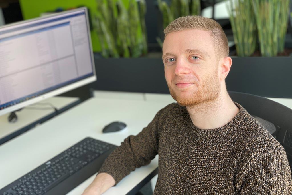 Mitarbeiter der IT Fabrik - Alexander Berg