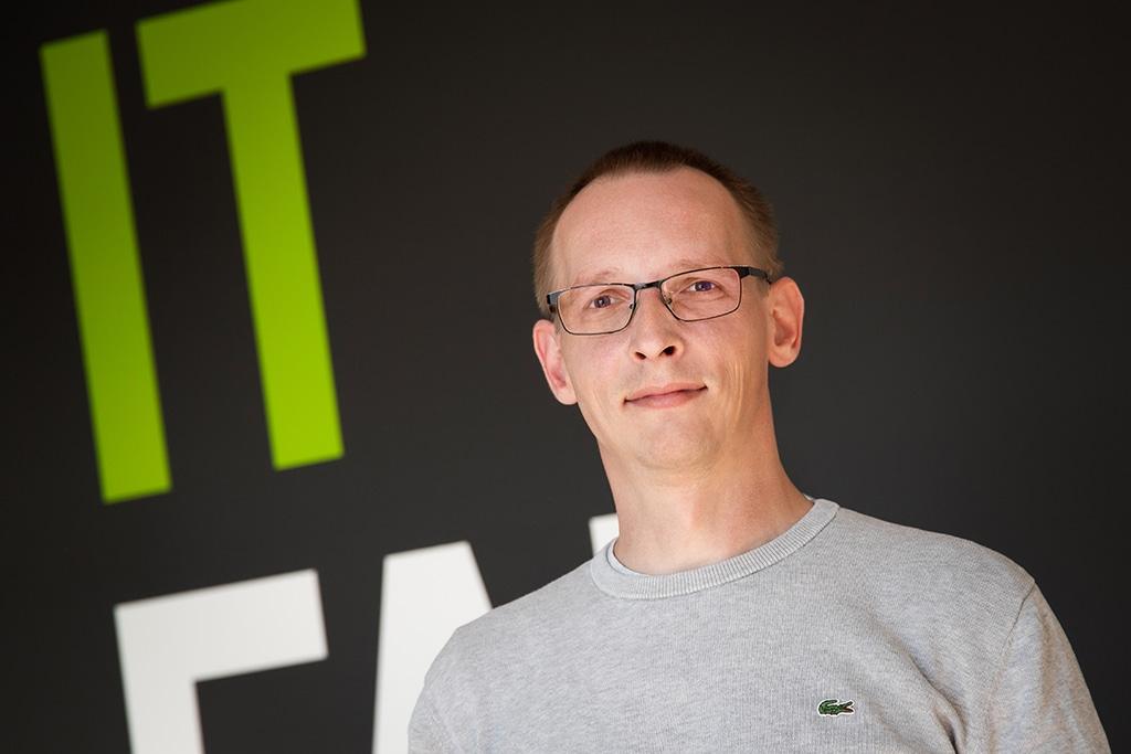 Andreas Stein - Mitarbeiter der IT Fabrik Systemhaus GmbH & Co. KG