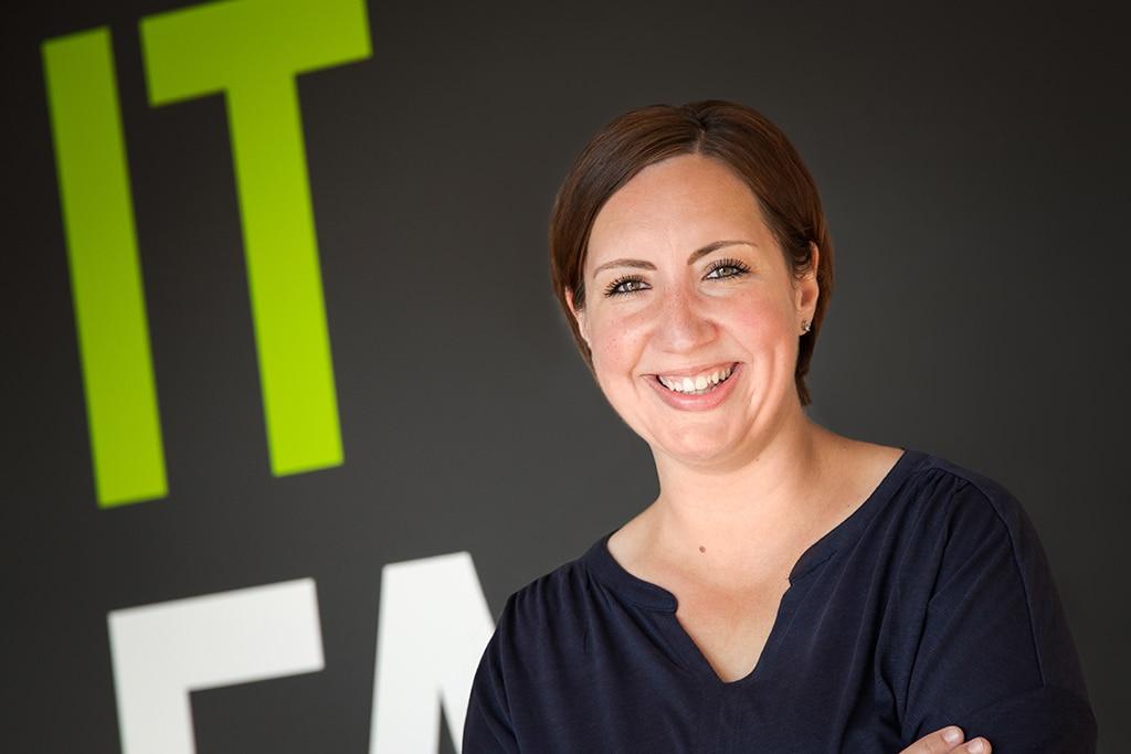 Mitarbeiter der IT Fabrik - Anna Lübken