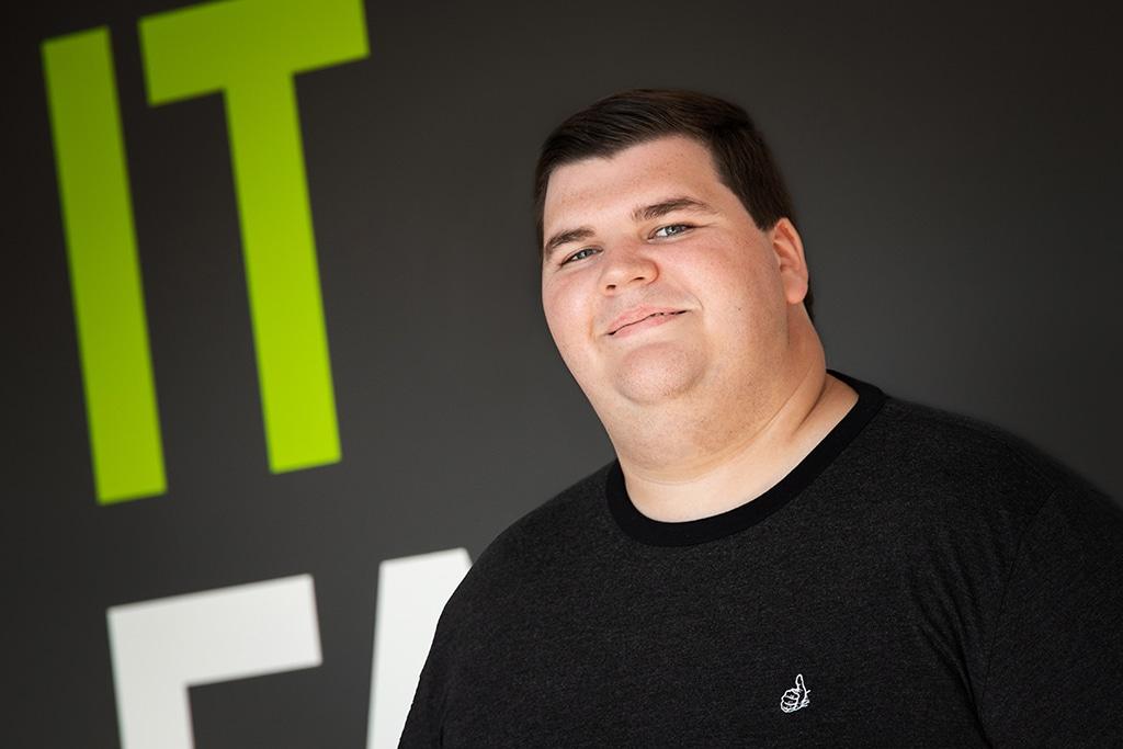 Mitarbeiter der IT Fabrik - Daniel Bretz