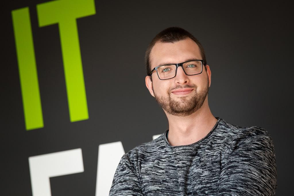 Mitarbeiter der IT Fabrik - Erich Michaelis