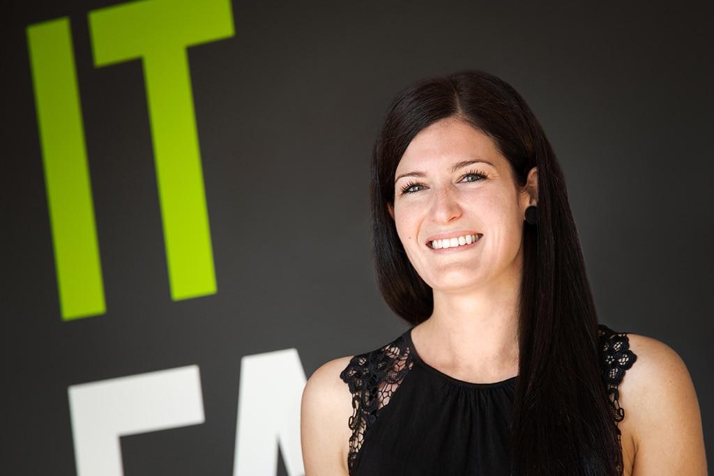 Mitarbeiter der IT Fabrik - Julia Schaal