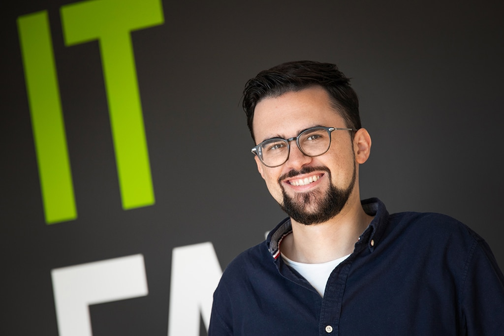 Mitarbeiter der IT Fabrik - Julian Dunkel