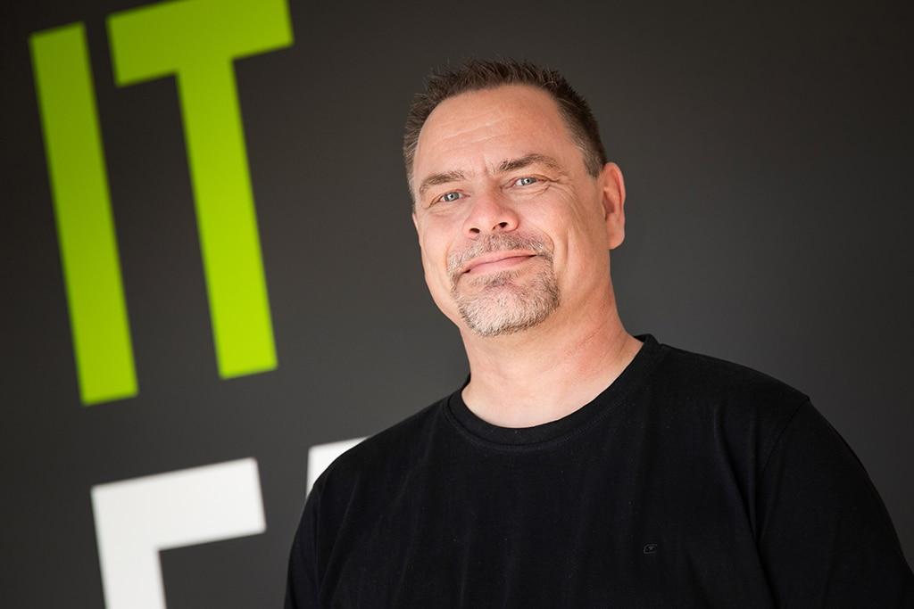 Mitarbeiter der IT Fabrik - Markus Born