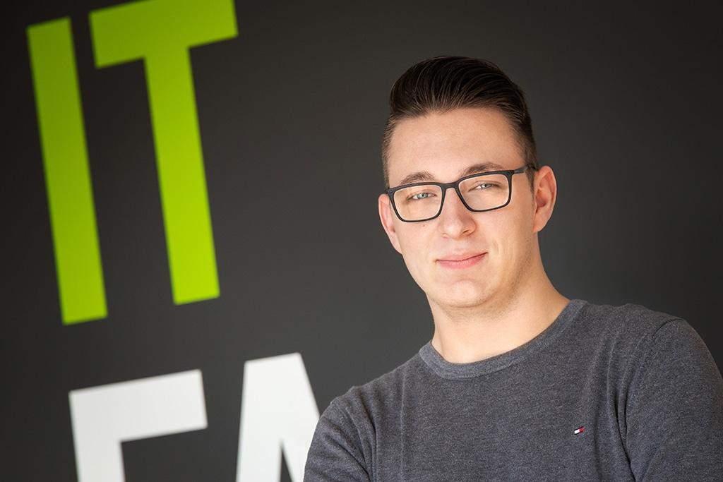 Mitarbeiter der IT Fabrik - Maurice Schilz