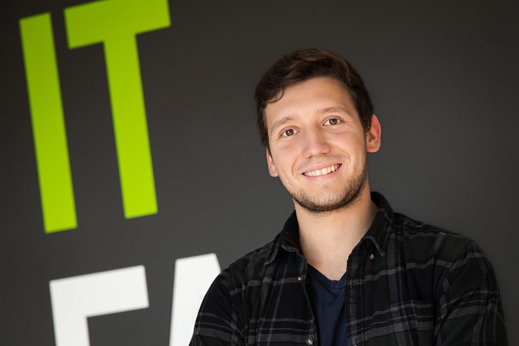 Mitarbeiter der IT Fabrik - Moritz Lübken