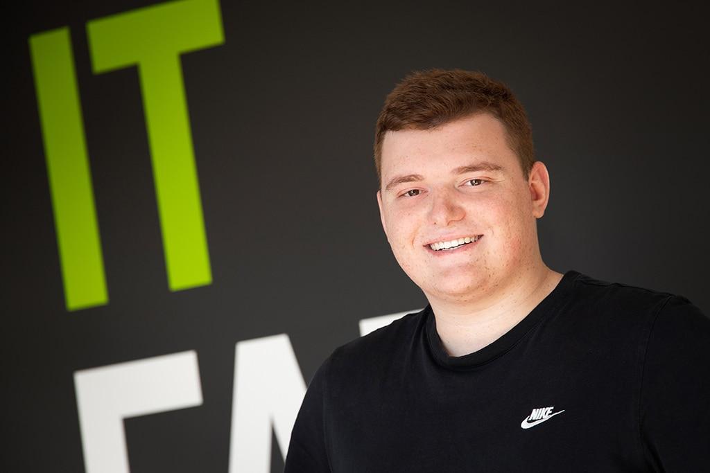 Mitarbeiter der IT Fabrik - Noah Gorgeneck