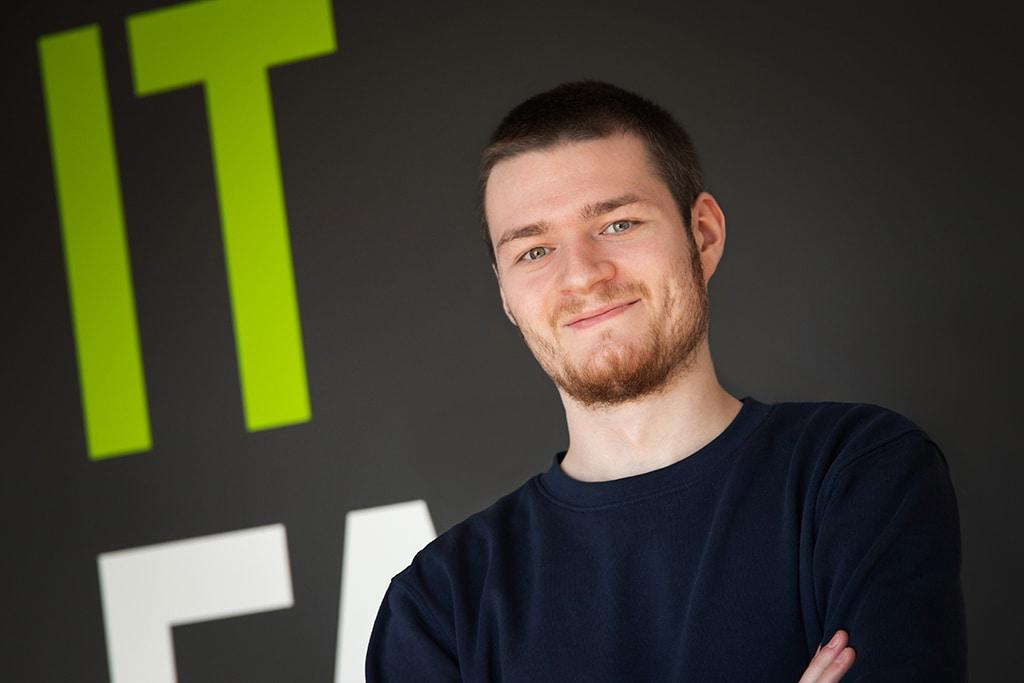Mitarbeiter der IT Fabrik - Patrick Großmann