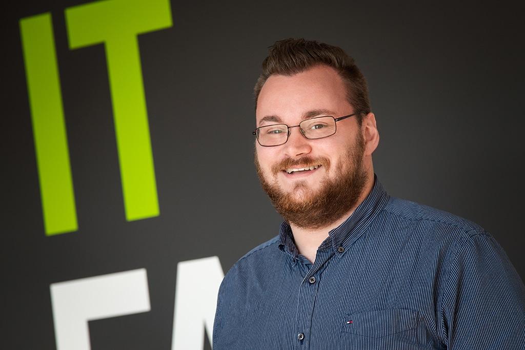 Mitarbeiter der IT Fabrik - Patrick Schwarz