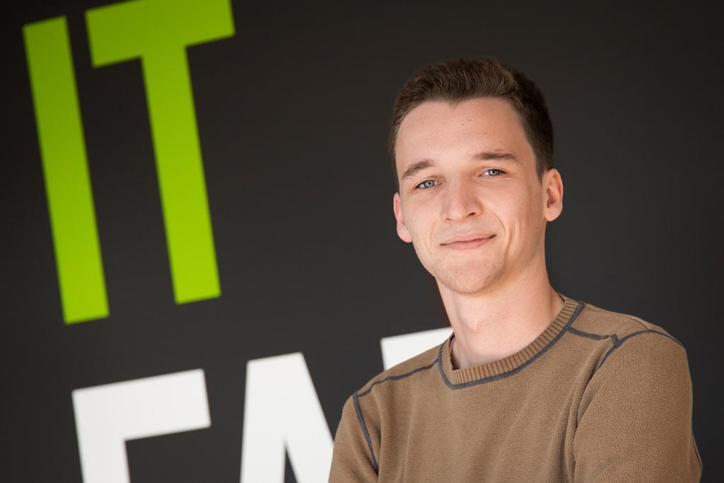 Mitarbeiter der IT Fabrik - Tobias Gierenz