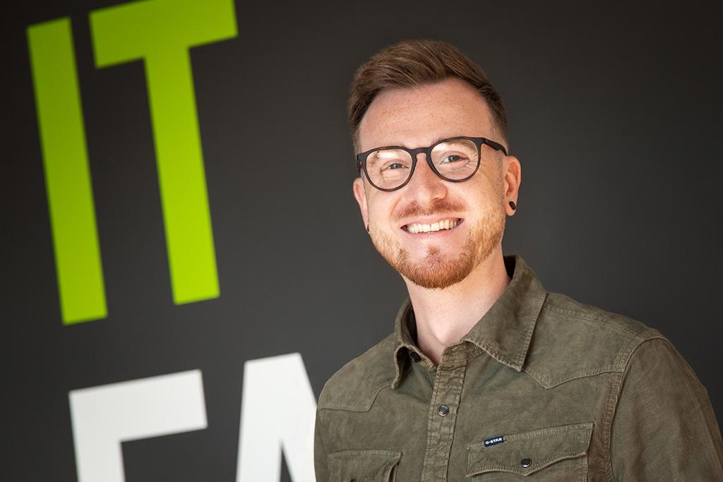 Tobias Groß - Mitarbeiter der IT Fabrik Systemhaus GmbH & Co. KG