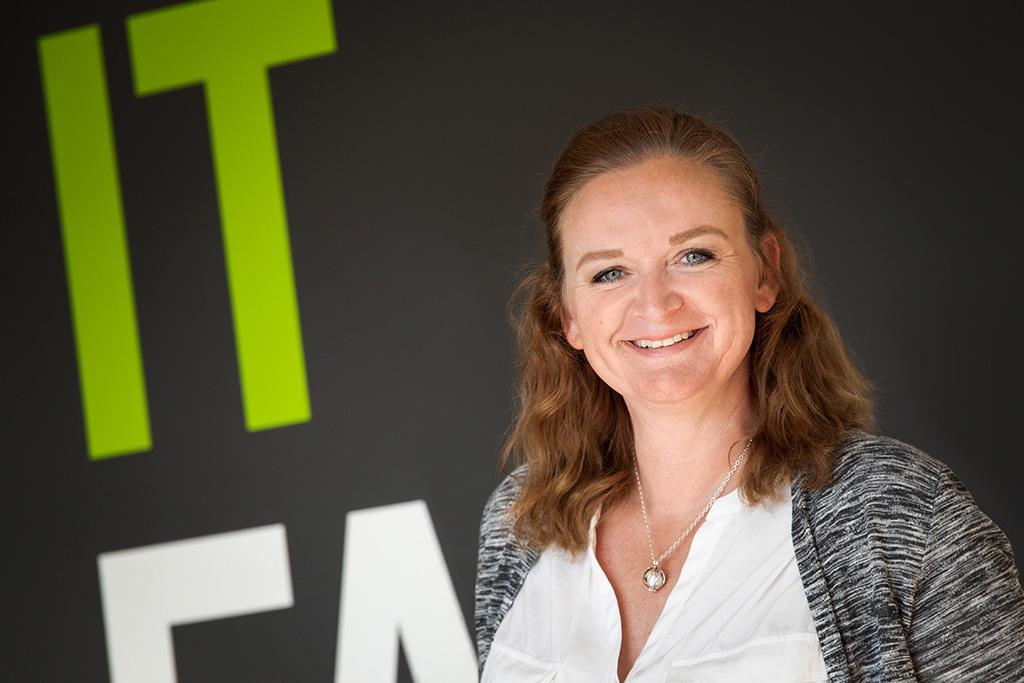 Mitarbeiter der IT Fabrik - Yvonne Engler